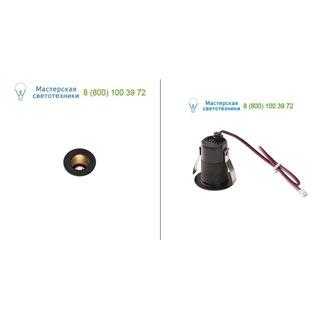 1000915 SLV by Marbel TRITON MINI LED светильник встраиваемый 350мА с LED 1.2Вт, 3000К, 70лм, 12°, CRI>90, черный