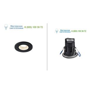 1001011 SLV by Marbel KAMUELA LED светильник встраиваемый IP65 с LED 7.8Вт, 3000К, 600лм, 38°, черный