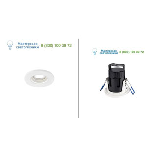 1001014 SLV by Marbel KAMUELA LED светильник встраиваемый IP65 с LED 7.8Вт, 4000К, 600лм, 38°, белый