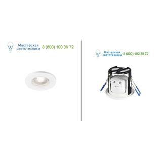 1001018 SLV by Marbel KAMUELA ECO LED светильник встраиваемый IP65 с LED 6.5Вт, 4000К, 400лм, 38°, белый