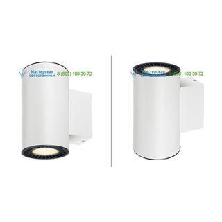 114141 SLV by Marbel SUPROS UP-DOWN светильник настенный с LED 2х15.2Вт (33.5Вт), 3000К, 2750лм, 60°, белый