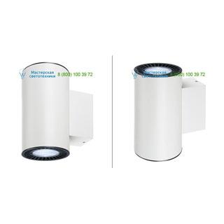114191 SLV by Marbel SUPROS UP-DOWN светильник настенный с LED 2х15.2Вт (33.5Вт), 4000К, 2900лм, 60°, белый