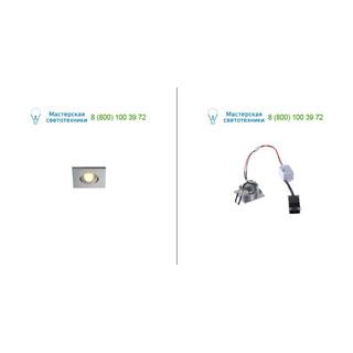 114406 SLV by Marbel NEW TRIA MINI DL SQUARE SET, светильник с LED 2.2Вт, 3000K, 30°, 143lm, с блоком питания, алюминий