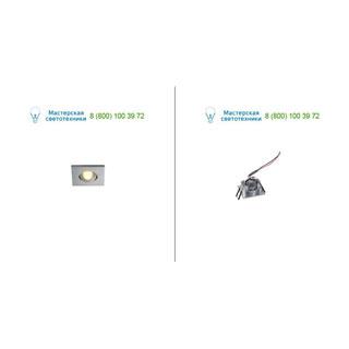 114416 SLV by Marbel NEW TRIA MINI DL SQUARE светильник с LED 2.2Вт, 3000K, 30°, 143lm, матир. алюминий