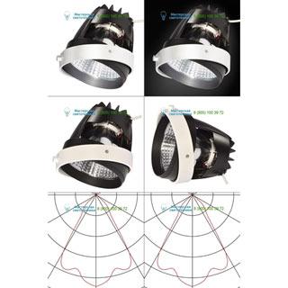 115207 SLV by Marbel AIXLIGHT® PRO, COB LED MODULE «FRESH» светильник 700мА с LED 26Вт, 4200K, 1950лм, 70°, CRI90+, белый