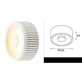 117351 SLV by Marbel OCCULDAS 13 светильник потолочный с LED 15Вт, 3000К, 810лм, белый