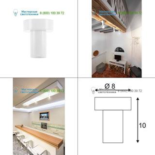 132641 SLV by Marbel FITU CL светильник потолочный для лампы E27 60Вт макс., белый