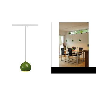 143625 SLV by Marbel 1PHASE-TRACK, LIGHT EYE PD ES111 светильник подвесной для лампы ES111 75Вт макс., зеленый/ белый