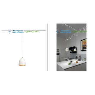 143991 SLV by Marbel 1PHASE-TRACK, PARA CONE 14 светильник подвесной для лампы GU10 35Вт макс., белый/ золото