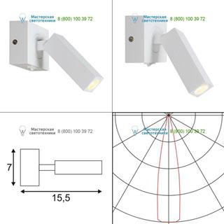 146271 SLV by Marbel STIX светильник накладной с выключателем и LED 3Вт (4.5Вт), 3000К, 185lm, белый