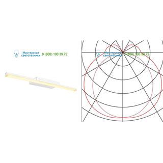 146801 SLV by Marbel GLENOS WL-1 светильник накладной с LED 12.6Вт (17Вт), 3000К, 1000лм, белый