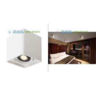 148081 SLV by Marbel PLASTRA BOX 1 XL светильник потолочный для лампы ES111 GU10 17.5Вт макс., белый гипс