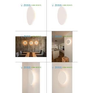 148091 SLV by Marbel PLASTRA CIRCLE LED светильник накладной с LED 7.4Вт, 3000К, 400лм, белый гипс