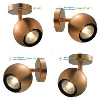 149069 SLV by Marbel LIGHT EYE 1 GU10 светильник накладной для лампы GU10 50Вт макс., матированная медь