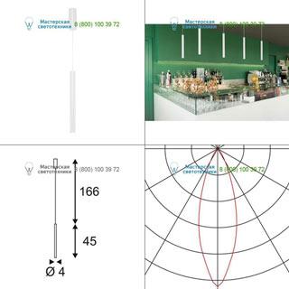 152371 SLV by Marbel HELIA 40 светильник подвесной с LED 9Вт (12Вт), 3000К, 720лм, белый
