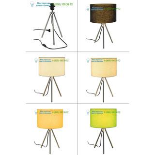 155542 SLV by Marbel FENDA, светильник настольный для лампы E27 40Вт макс., тренога, без абажура, хром