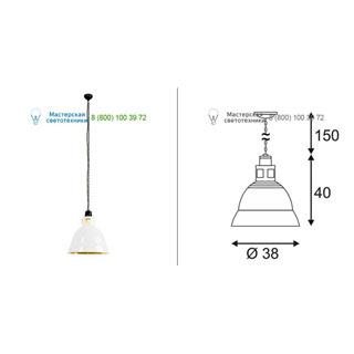 165351 SLV by Marbel PARA 380 светильник подвесной для лампы E27 160Вт макс., белый