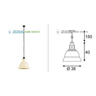 165357 SLV by Marbel PARA 380 светильник подвесной для лампы E27 160Вт макс., бежевый