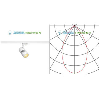 176011 SLV by Marbel 3Ph, STRUCTEC LED светильник с LED 24Вт (29Вт), CRI 90, 3000К, 2360лм, 60°, белый