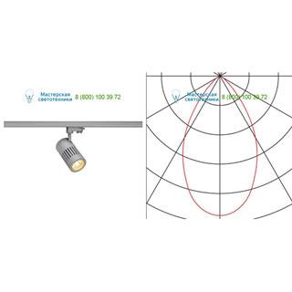 176014 SLV by Marbel 3Ph, STRUCTEC LED светильник с LED 24Вт (29Вт), CRI 90, 3000К, 2360лм, 60°, серебристый