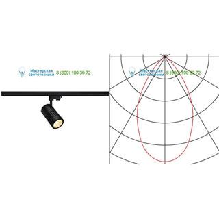 176050 SLV by Marbel 3Ph, STRUCTEC LED светильник с LED 31Вт (36Вт), CRI 90, 3000К, 2920лм, 60°, черный