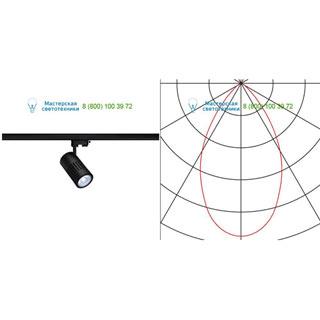 176070 SLV by Marbel 3Ph, STRUCTEC LED светильник с LED 31Вт (36Вт), CRI 90, 4000К, 3270лм, 60°, черный