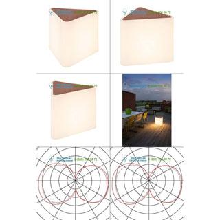 227550 SLV by Marbel KENGA светильник напольный IP54 для лампы Е27 24Вт макс., белый
