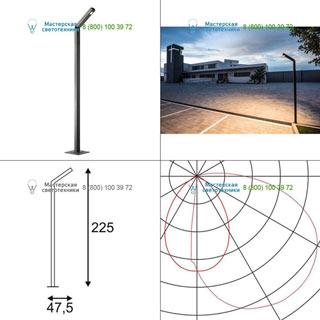231845 SLV by Marbel BENDO 225 светильник IP55 с LED 30Вт, 3000К, 1800лм, антрацит
