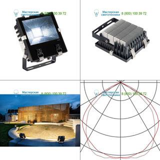 232370 SLV by Marbel DISOS LED 73 светильник IP65 c LED 68.5Вт (73Вт), 4000К, 110°, 8080лм, черный