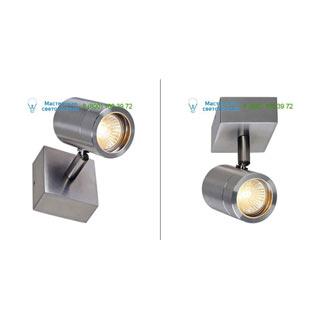 233300 SLV by Marbel SST 304 SINGLE светильник накладной IP44 для лампы GU10 35Вт макс., сталь