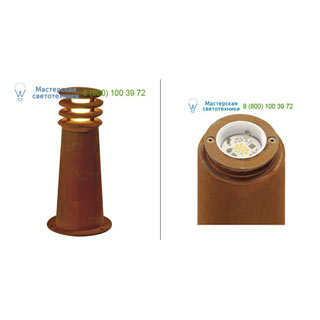 233407 SLV by Marbel RUSTY ROUND LED 40 светильник IP55 с COB LED 8.6Вт, 3000K, 430lm, бурый
