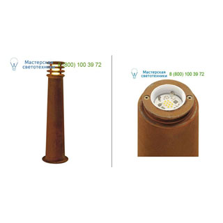 233417 SLV by Marbel RUSTY ROUND LED 70 светильник IP55 с COB LED 8.6Вт, 3000K, 430lm, бурый