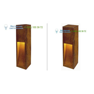 233447 SLV by Marbel RUSTY SLOT LED 50 светильник IP55 с COB LED 8.6Вт, 3000K, 430lm, бурый