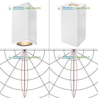 234511 SLV by Marbel BIG THEO LED BEAM светильник настенный IP44 с LED 6.2+17.5Вт (29Вт), 3000К, 2°+24°, 2130лм, белый