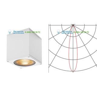 234531 SLV by Marbel BIG THEO LED CL светильник потолочный IP44 с LED 17.5Вт (21Вт), 3000К, 24°, 2000лм, белый