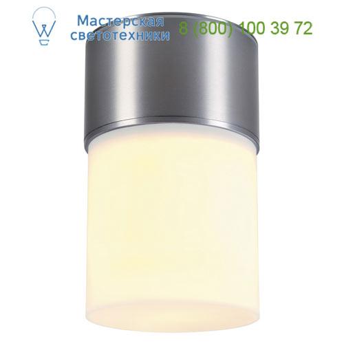 1000338 SLV by Marbel ROX ACRYL C светильник потолочный IP44 для лампы E27 20Вт макс., матированный алюминий/ белый