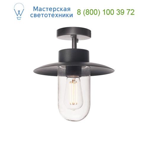 1000823 SLV by Marbel MOLAT CL светильник потолочный IP44 для лампы E27 60Вт макс., антрацит