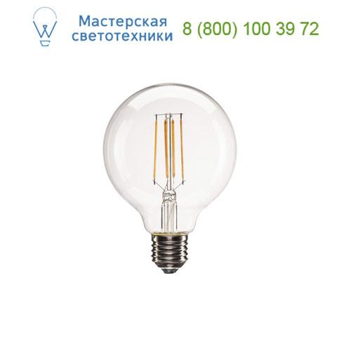 1001035 SLV by Marbel LED E27 G95 источник света LED, 220В, 8Вт, 330°, 2700K, 806лм, диммируемый, прозрачная колба