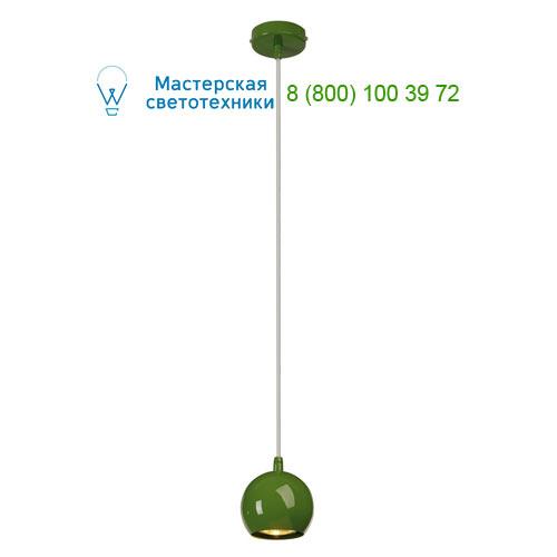 133495 SLV by Marbel LIGHT EYE SMALL светильник подвесной для лампы LED GU10 5Вт макс., папоротниковый (RAL6025)