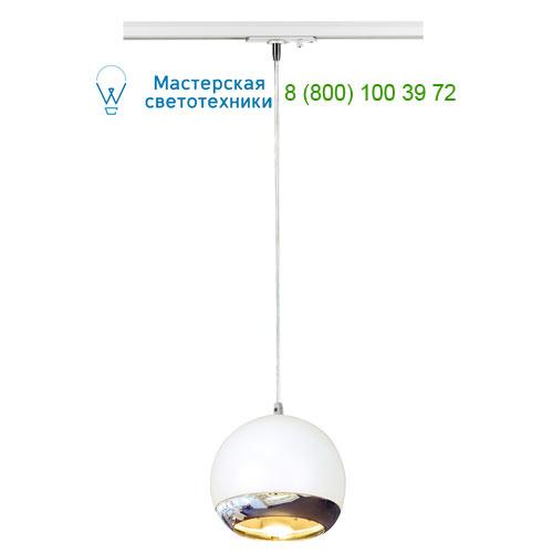 143621 SLV by Marbel 1PHASE-TRACK, LIGHT EYE PD ES111 светильник подвесной для лампы ES111 75Вт макс., белый/ хром