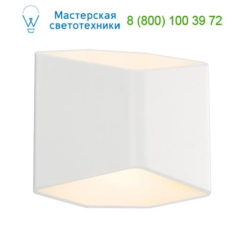 151711 SLV by Marbel CARISO WL-2 светильник настенный с LED 7.6Вт (11Вт), 3000К, 390lm, белый
