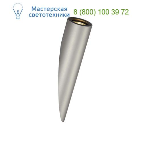 152004 SLV by Marbel ENOLA_B TORCH светильник настенный для лампы GU10 50Вт макс., серебристый / черный