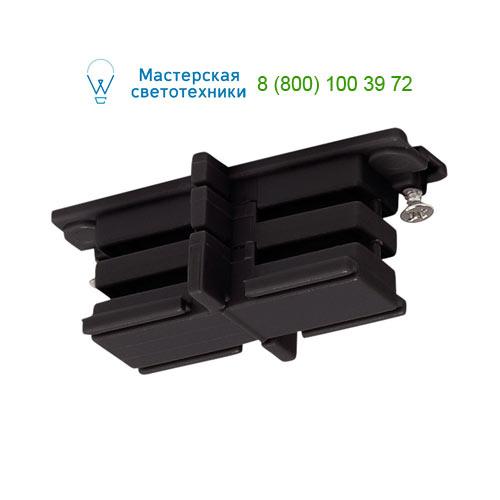 175080 SLV by Marbel 3Ph | S-TRACK, коннектор прямой внутренний изолирующий, черный