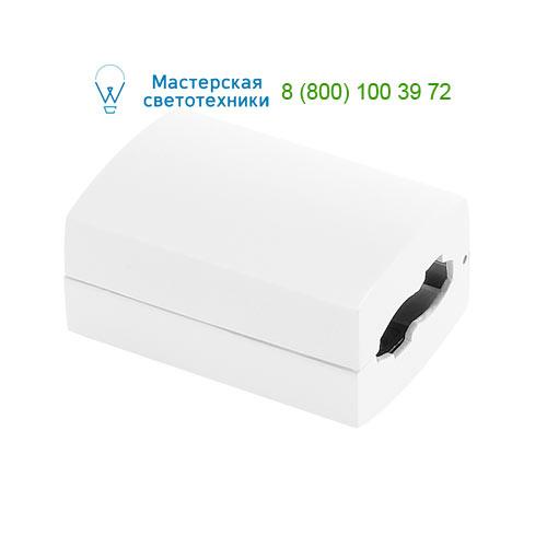 184031 SLV by Marbel EASYTEC II®, коннектор прямой, белый