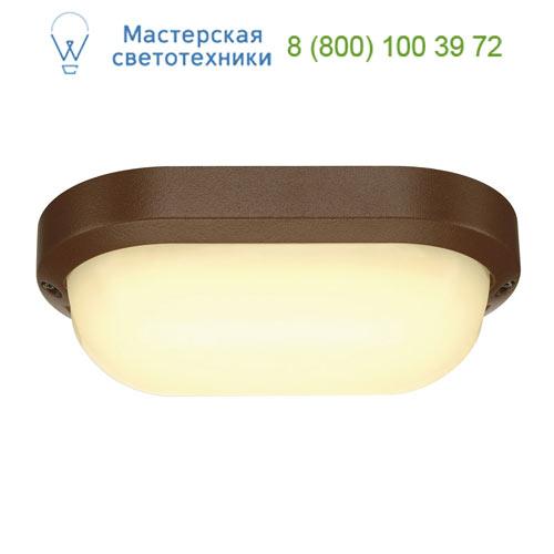 229947 SLV by Marbel TERANG 2 XL светильник накладной IP44 с SMD LED 22Вт, 3000K, 1300lm, бурый