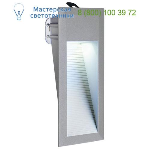 230211 SLV by Marbel DOWNUNDER LED 15 светильник встраиваемый IP44 c 15 SMD LED 0.9Вт, 6500K, 70lm, темно-серый