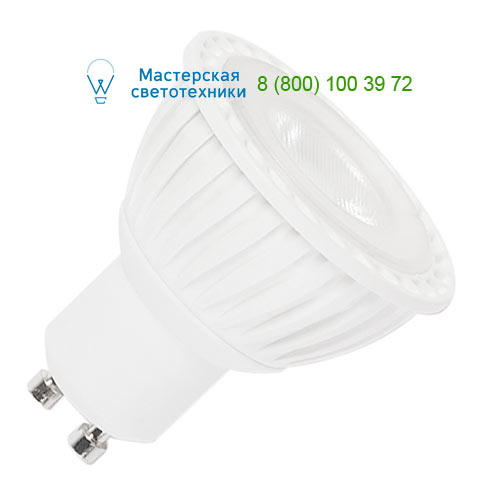 551294 SLV by Marbel LED GU10 источник света SMD 4.3 Вт, SLV, 230В, 40°, 4000К, 245лм