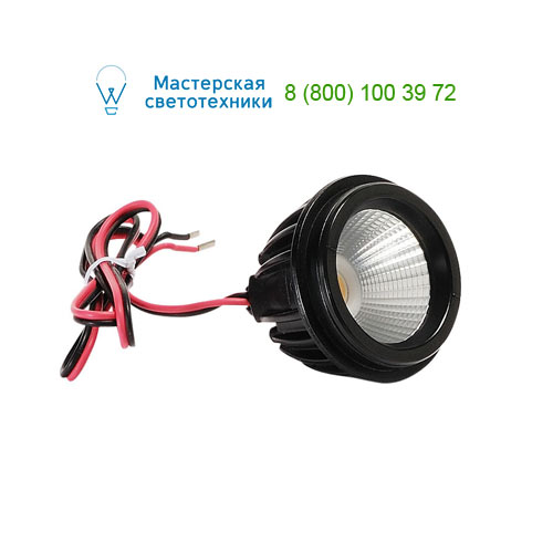 553010 SLV by Marbel LED MR16 MODULE источник света, 350мА, 6,6Вт, 40°, 2000-2800K, 540лм, 1100cd, черный корпус