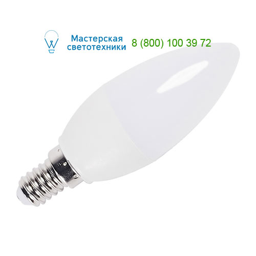 560362 SLV by Marbel LED E14 CANDLE источник света COB LED, 230В, 3,4Вт, 2700K, 250лм, свеча
