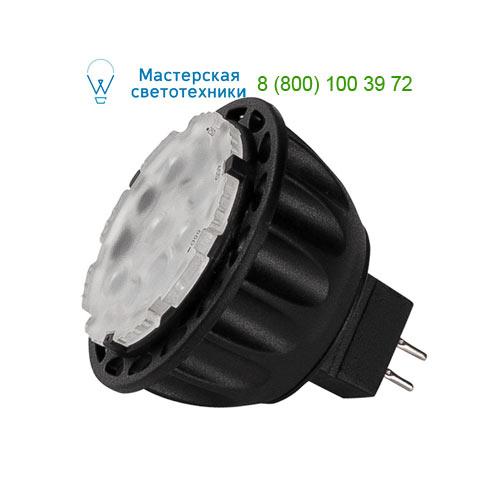560593 SLV by Marbel LED MR16 источник света GU5.3 COB LED, 12В, 5Вт, 3000К, изменяемый угол 25-40-55°, 300лм